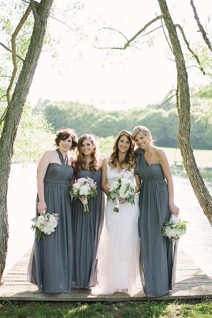 Jenny Yoo gray bridesmaids   Brooke Courtney Photography   Glamour & Grace