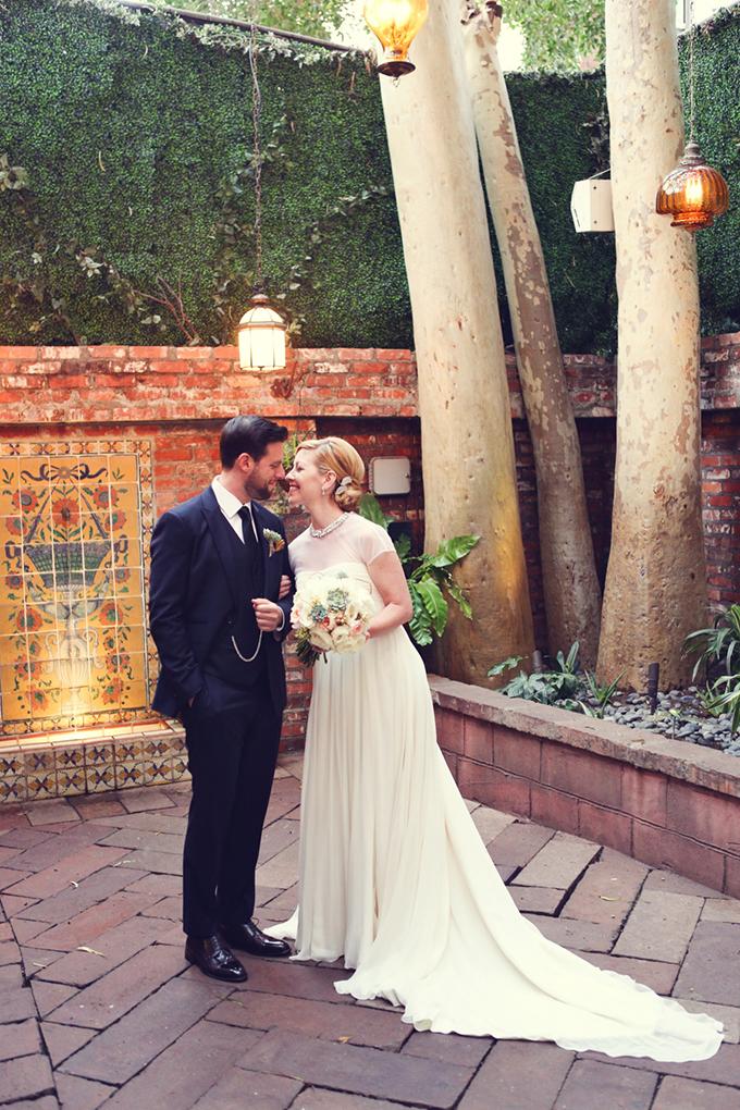 urban rustic wedding | Lukas & Suzy VanDyke | Glamour & Grace