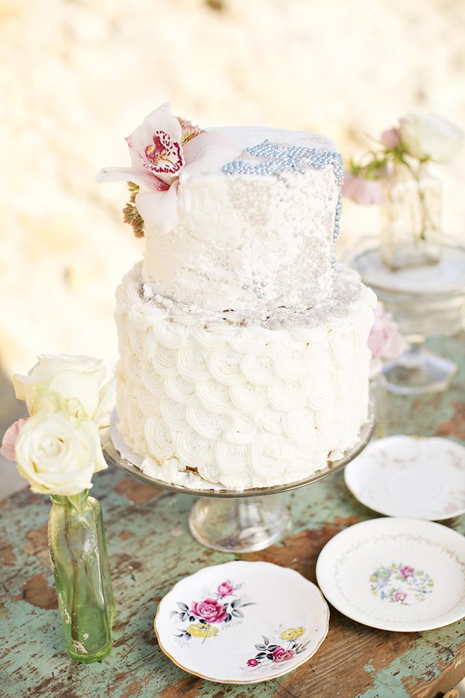 vintage nautical cake   Brooke Beasley Photography   Glamour & Grace