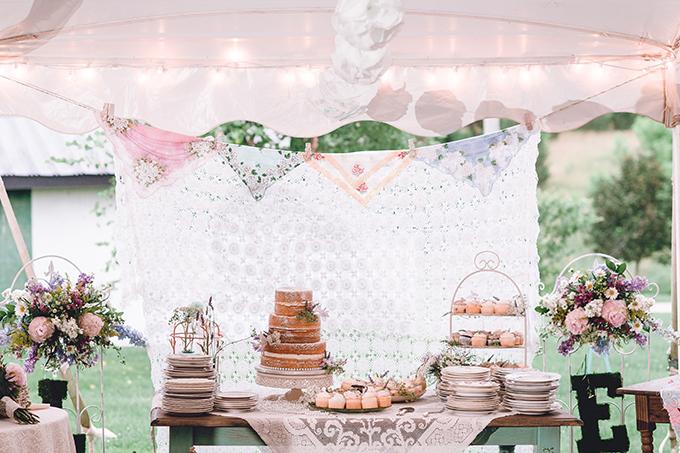 rustic handmade farm wedding | sharon elizabeth photography | Glamour & Grace