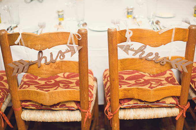 his and hers signs | Sun & Sparrow Photography | Glamour & Grace