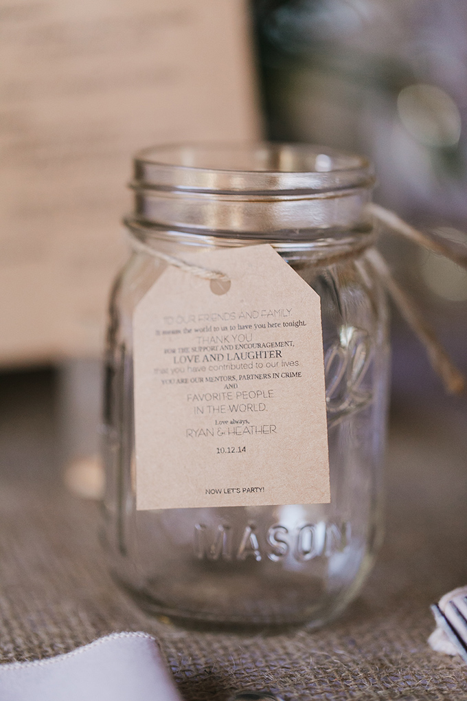 mason jar thank yous   Jessica Connery Photography   Glamour & Grace