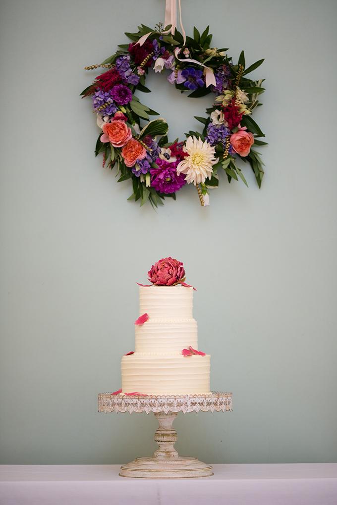 pink peony cake | Peach Plum Pear Photo | Glamour & Grace