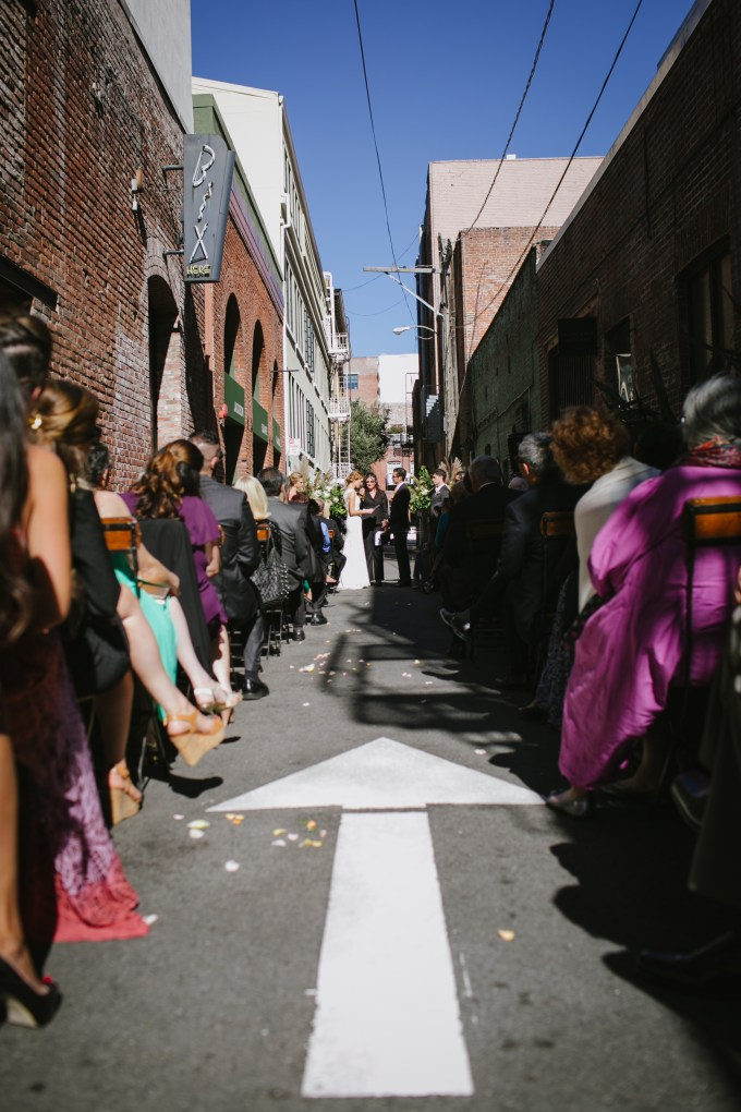 ceremony in street | Jerry Yoon Photographers | Glamour & Grace