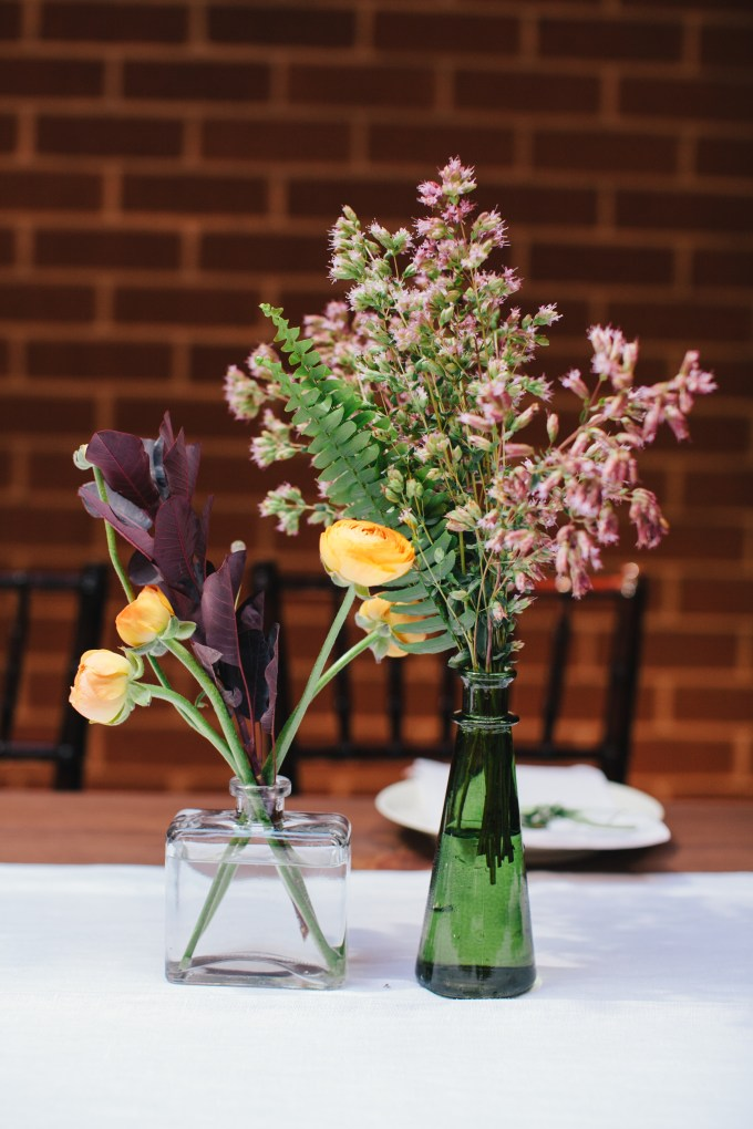 eclectic centerpieces | Jerry Yoon Photographers | Glamour & Grace