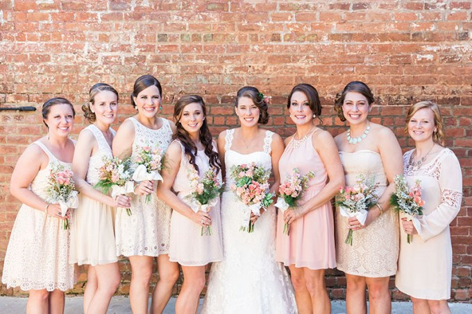 pastel southern wedding | Devon Donnahoo Photography | Glamour & Grace