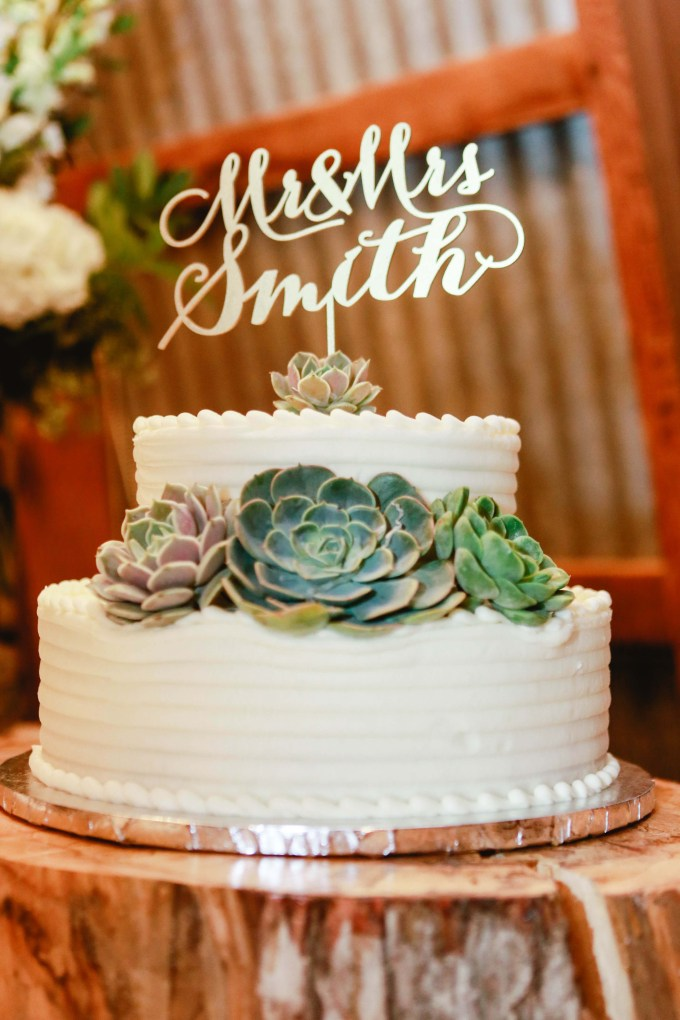 succulent cake | Allee J. | Glamour & Grace