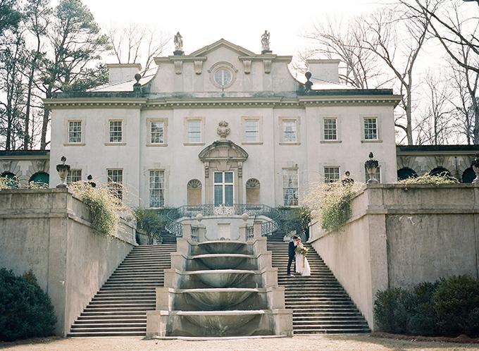 Swan House wedding   Archetype   Glamour & Grace