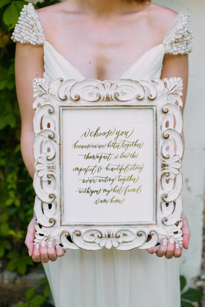 I choose you because we are better together than apart | Bekah Kay Creative | Glamour & Grace