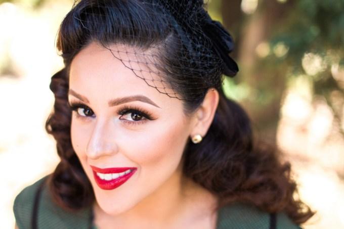 retro LA engagement | Dennis Roy Coronel | Glamour & Grace