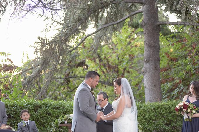 romantic red California wedding | Jenny Smith & Co. | Glamour & Grace