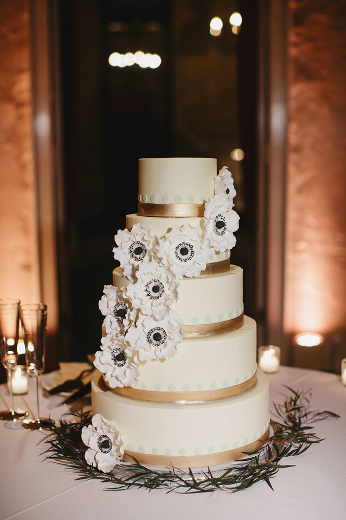 anenome cake | Greer G Photography | Glamour & Grace