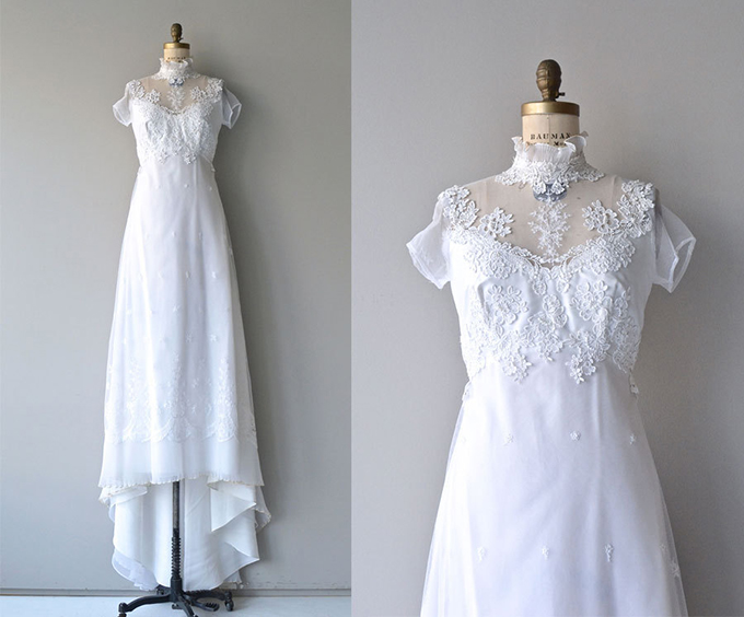 vintage wedding dress | Glamour & Grace