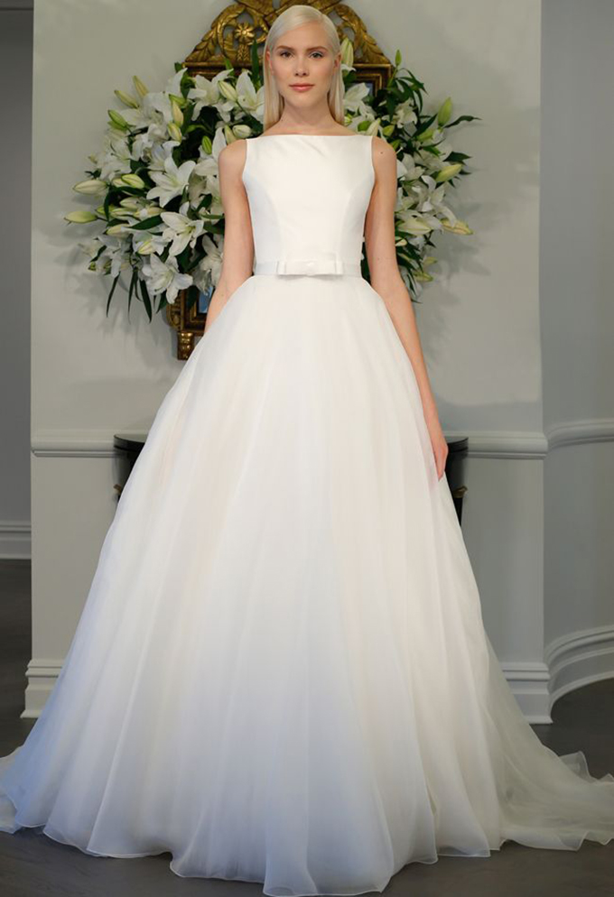 Audrey Hepburn gown | Legends Romona Keveza Fall 2015