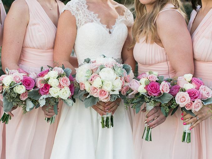 blush DIY wedding | Rachel Solomon Photography | Glamour & Grace