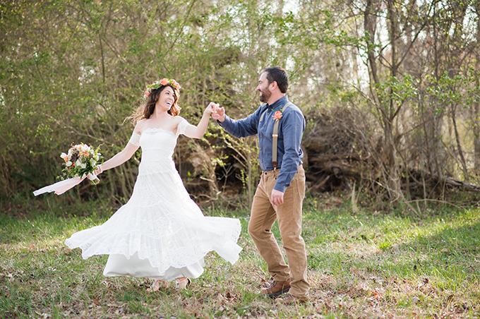 dreamy backyard wedding | Christina Forbes Photography | Glamour & Grace
