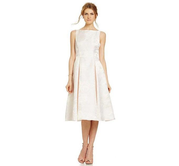 tea length dress   Adrianna Papell
