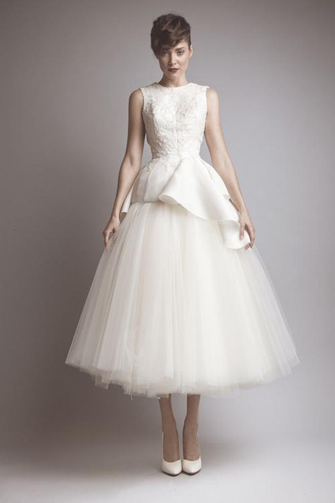 tea length dress | Ashi Studio