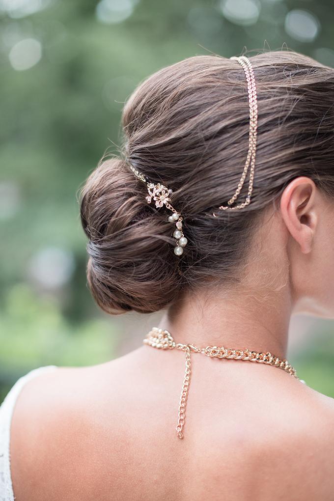 elegant bun | Lyndi J. Photography | Glamour & Grace