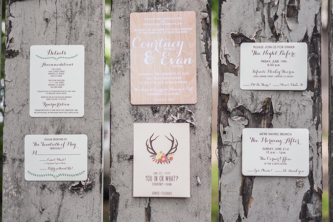 rustic invitation | Mathew Irving Photography | Glamour & Grace