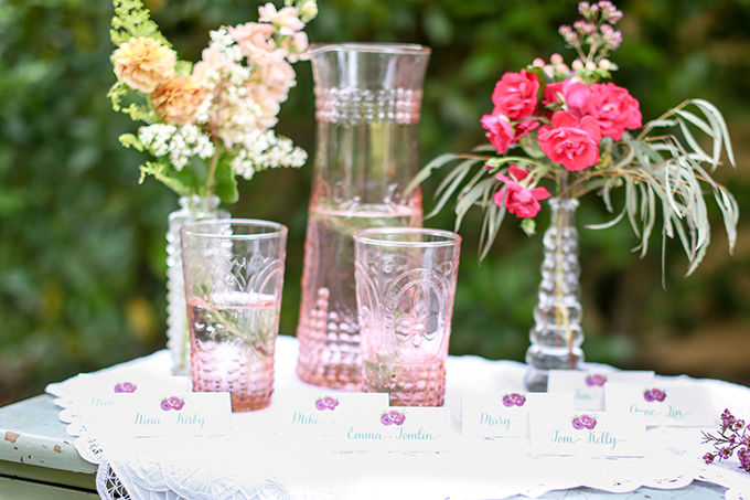 vintage summer wedding inspiration | Shelley Dee Photography | Glamour & Grace