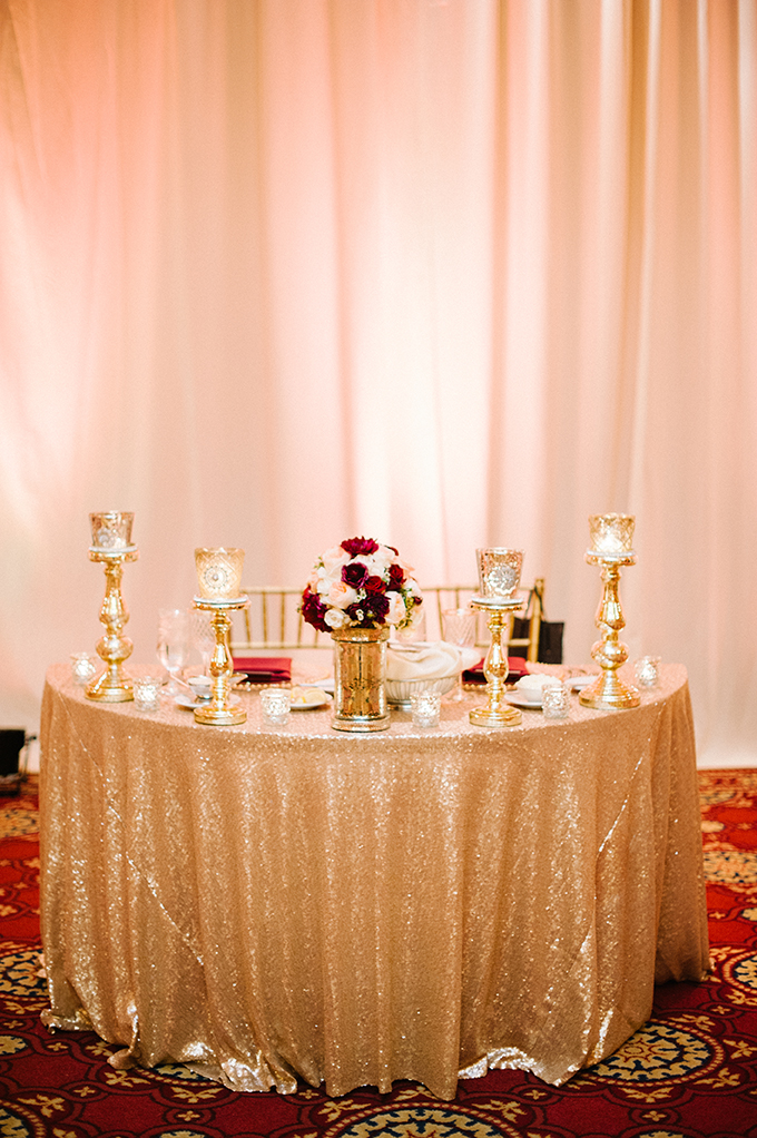 sweetheart table | Best Photography | Glamour & Grace