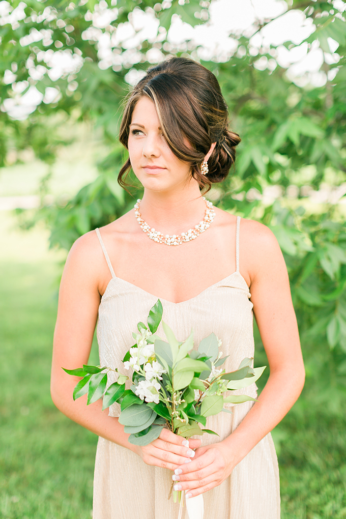 bridesmaid bouquets | Kirstyn Marie Photography | Glamour & Grace