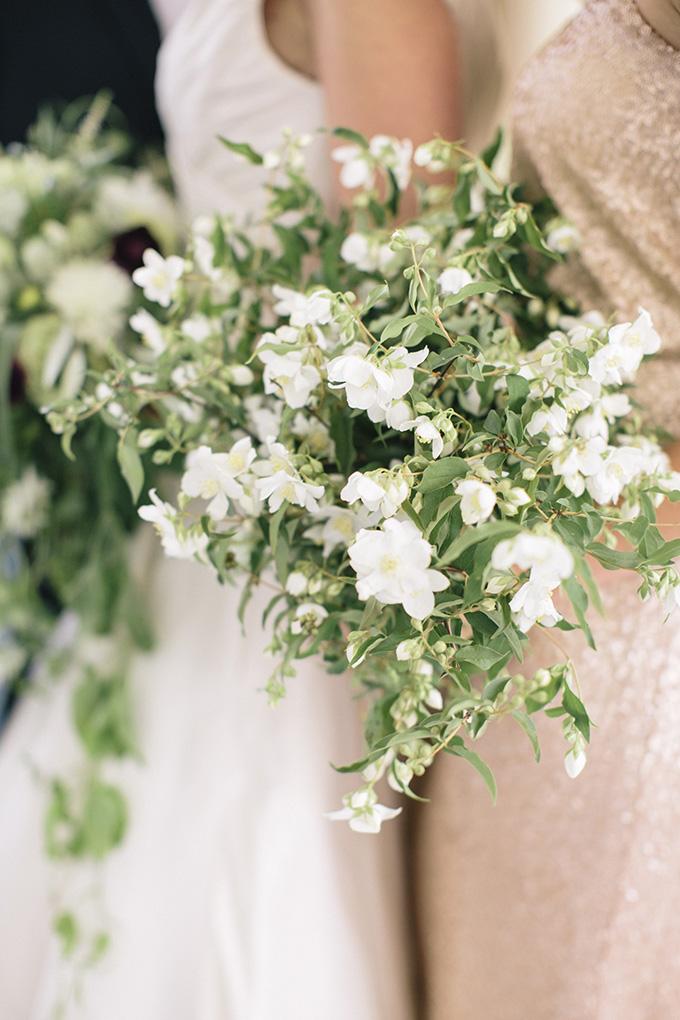 bridesmaid bouquet | Kate Preftakes Photography | Glamour & Grace