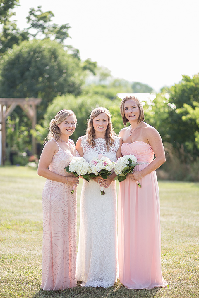blush bridesmaids | Natural Bliss Photography | Glamour & Grace
