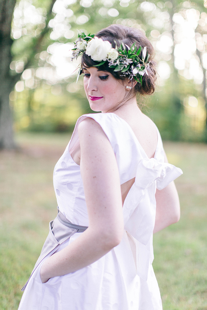 Mamie + James dress | Nikki Santerre | Glamour & Grace