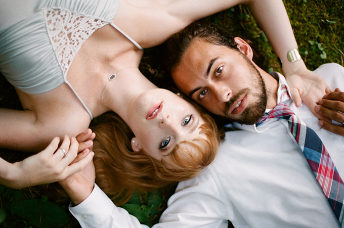 romantic forest elopement   White Rabbit Studios   Glamour & Grace