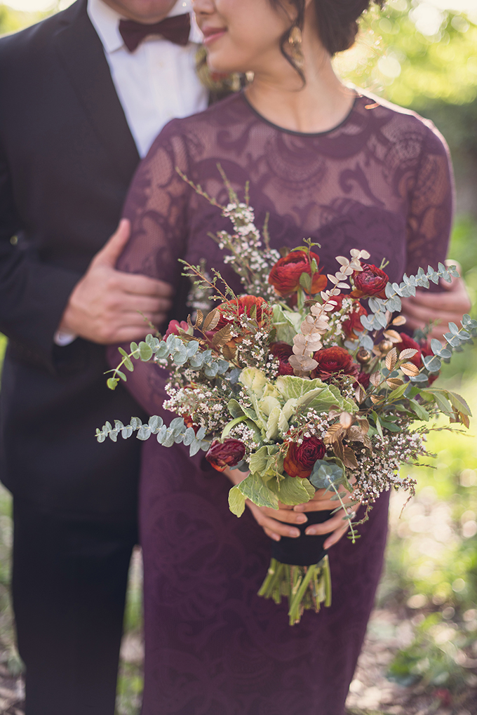 fall bouquet | Sun & Sparrow Photography | Glamour & Grace