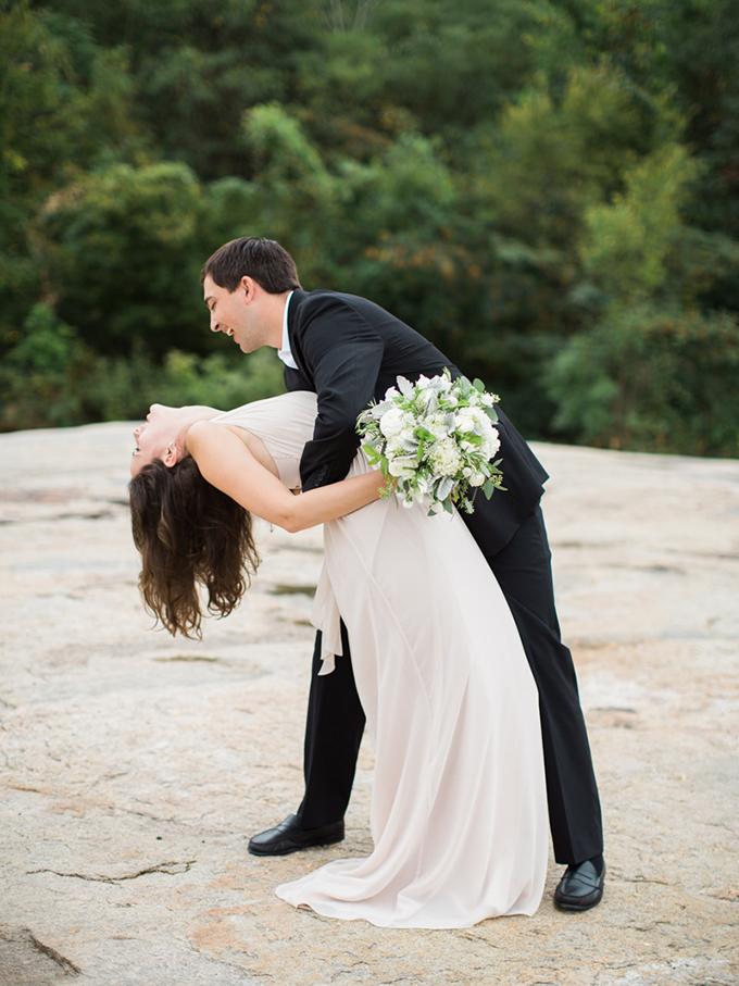 romantic riverside engagement | Carrie Coleman Photography | Glamour & Grace