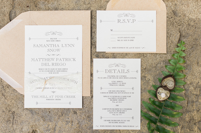 rustic navy wedding   Alicia Lacey Photography   Glamour & Grace