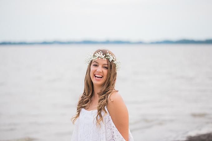 seaside boho bridal session   Heather & Jared Photography   Glamour & Grace