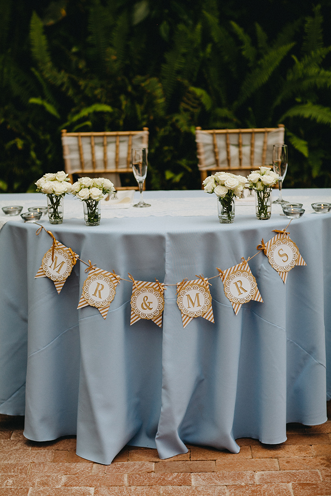 sweetheart table | Jay & Jess Photography | Glamour & Grace