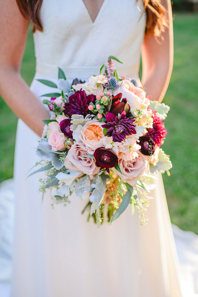 burgundy and blush bouquet | Brittney Nestle Photo | Glamour & Grace