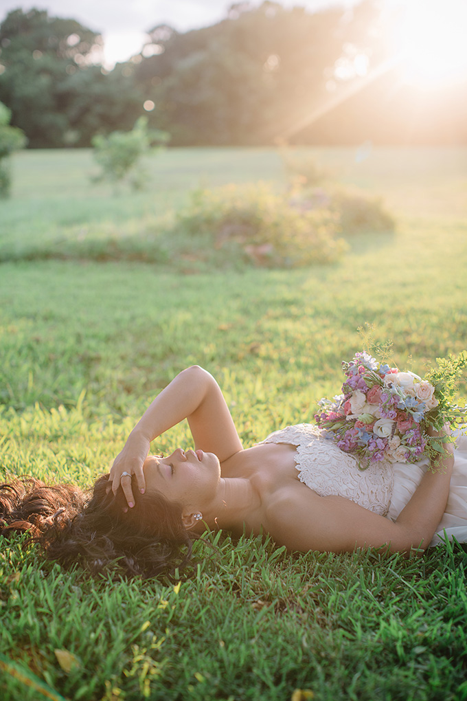 romantic bridal portraits | Echard Wheeler Photography | Glamour & Grace