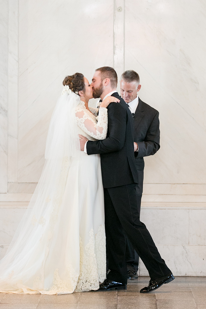 vintage courthouse wedding   Jill Doty Photography   Glamour & Grace