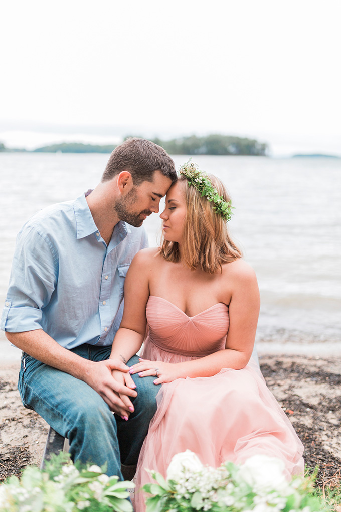 dreamy lake engagement | Chrissy Noel Photography | Glamour & Grace