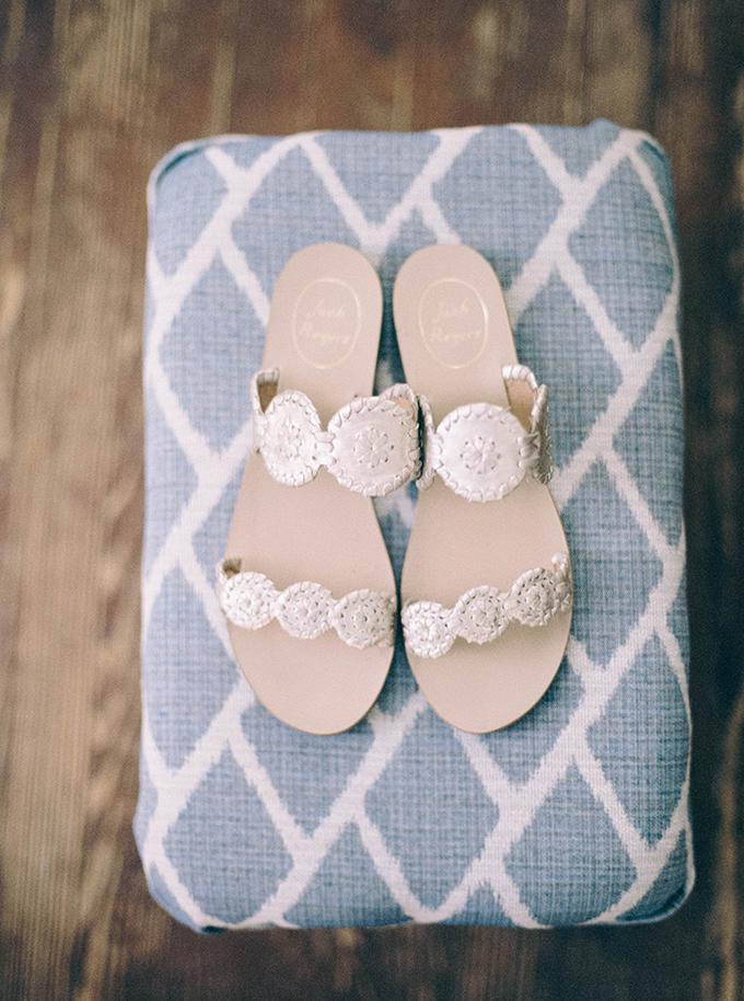wedding sandals | Nikki Santerre | Glamour & Grace
