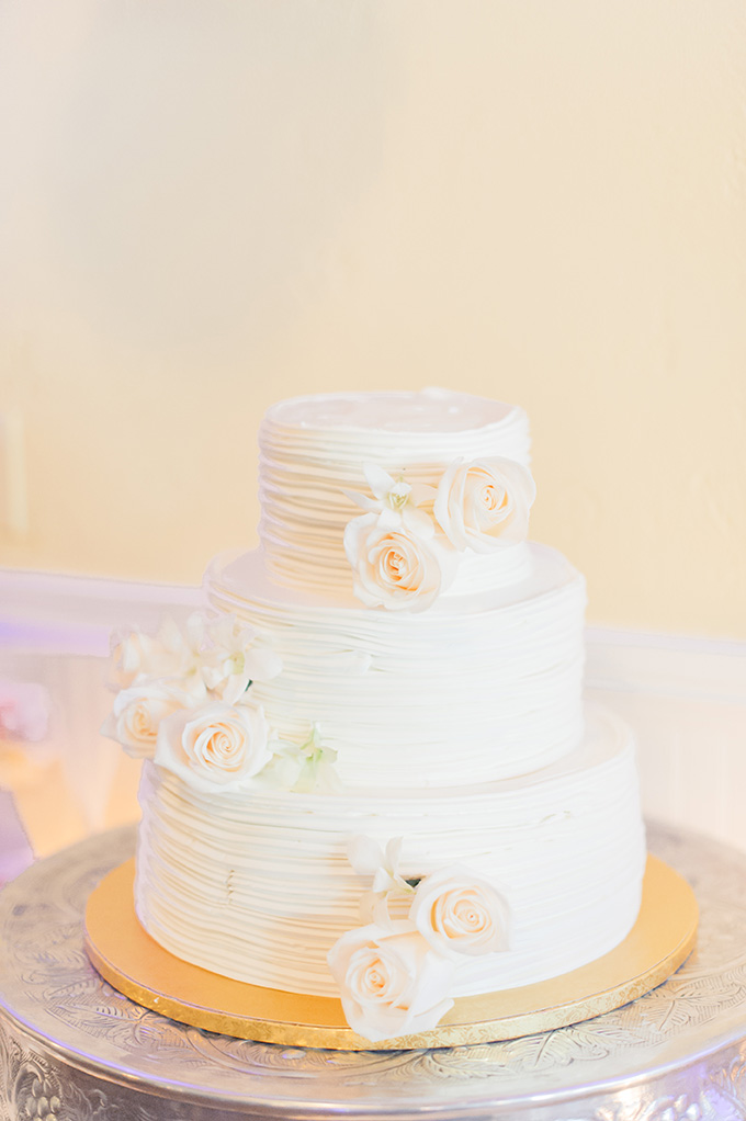 white cake | Jessica Bordner Photography | Glamour & Grace