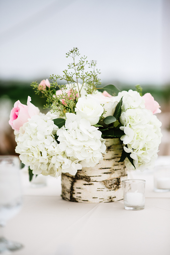 rustic centerpiece | Bethany and Dan Photography | Glamour & Grace