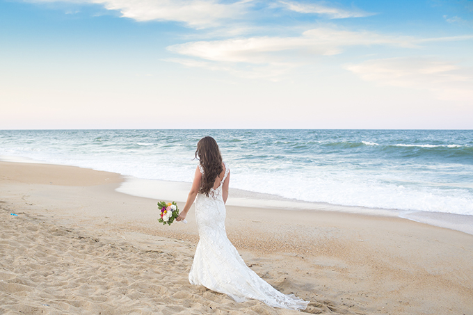 vintage beach wedding | Julie Dreelins Beach Productions | Glamour & Grace