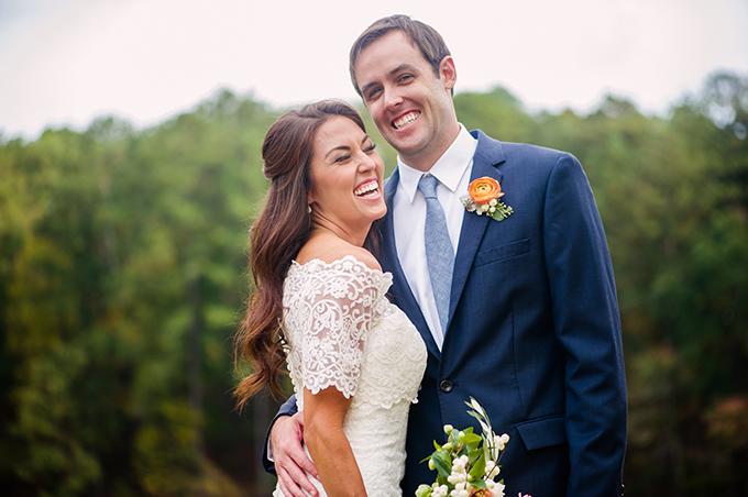 fall garden wedding | Alisha Crossley Photography | Glamour & Grace