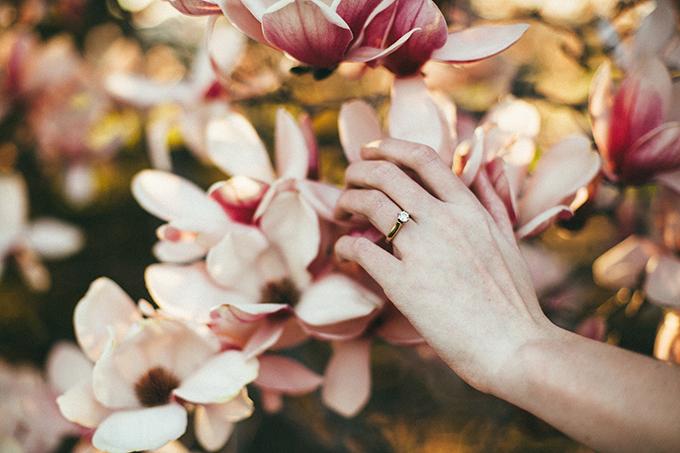 florals springtime bridal portraits | L.A. Birdie Photography | Glamour & Grace