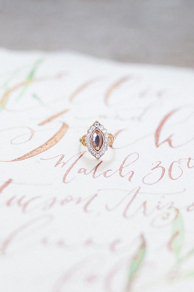 romantic desert bridal session | Marie Cameron Photography | Glamour & Grace