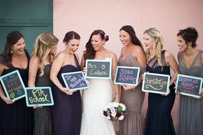 bridesmaids | Lauren Carroll Photography | Glamour & Grace