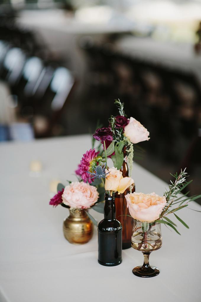 eclectic centerpieces | Q Avenue | Glamour & Grace