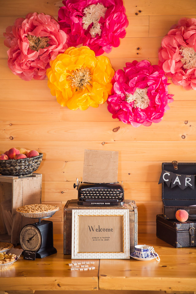 welcome table | Jaclyn Schmitz Photography | Glamour & Grace